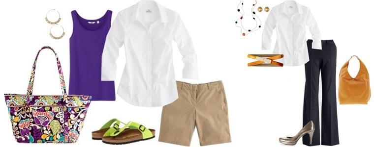 5 cách phối áo sơ mi trắng dành cho phái đẹp