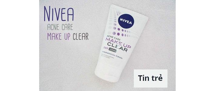 Cảm nhận: Sữa rửa mặt khoáng chất Nivea ngừa mụn và tẩy trang