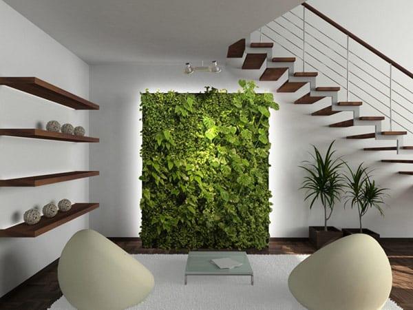 Không gian xanh trong nhà