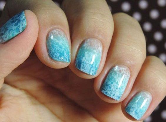 Mong tay nail dep