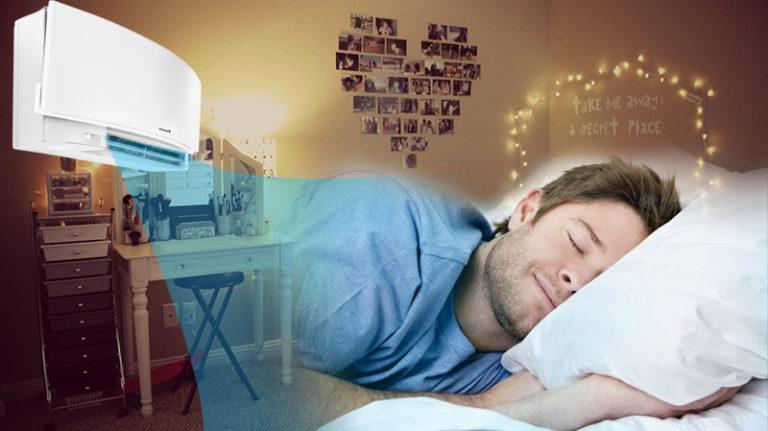 Chế độ ngủ thông minh của máy lạnh