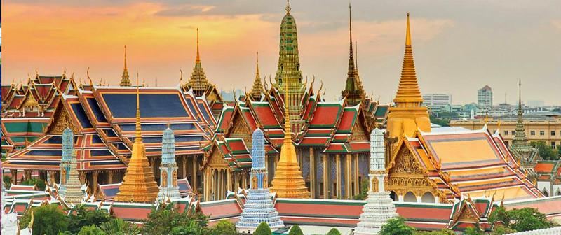 diem du lich bangkok, thai lan