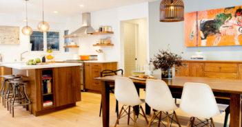 bán bàn ăn bằng gỗ hiện đại