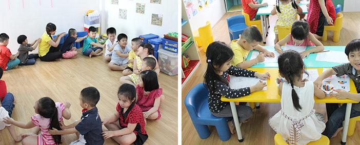 Trường mầm non tư thục chuyên giữ trẻ từ 9 tháng tuổi