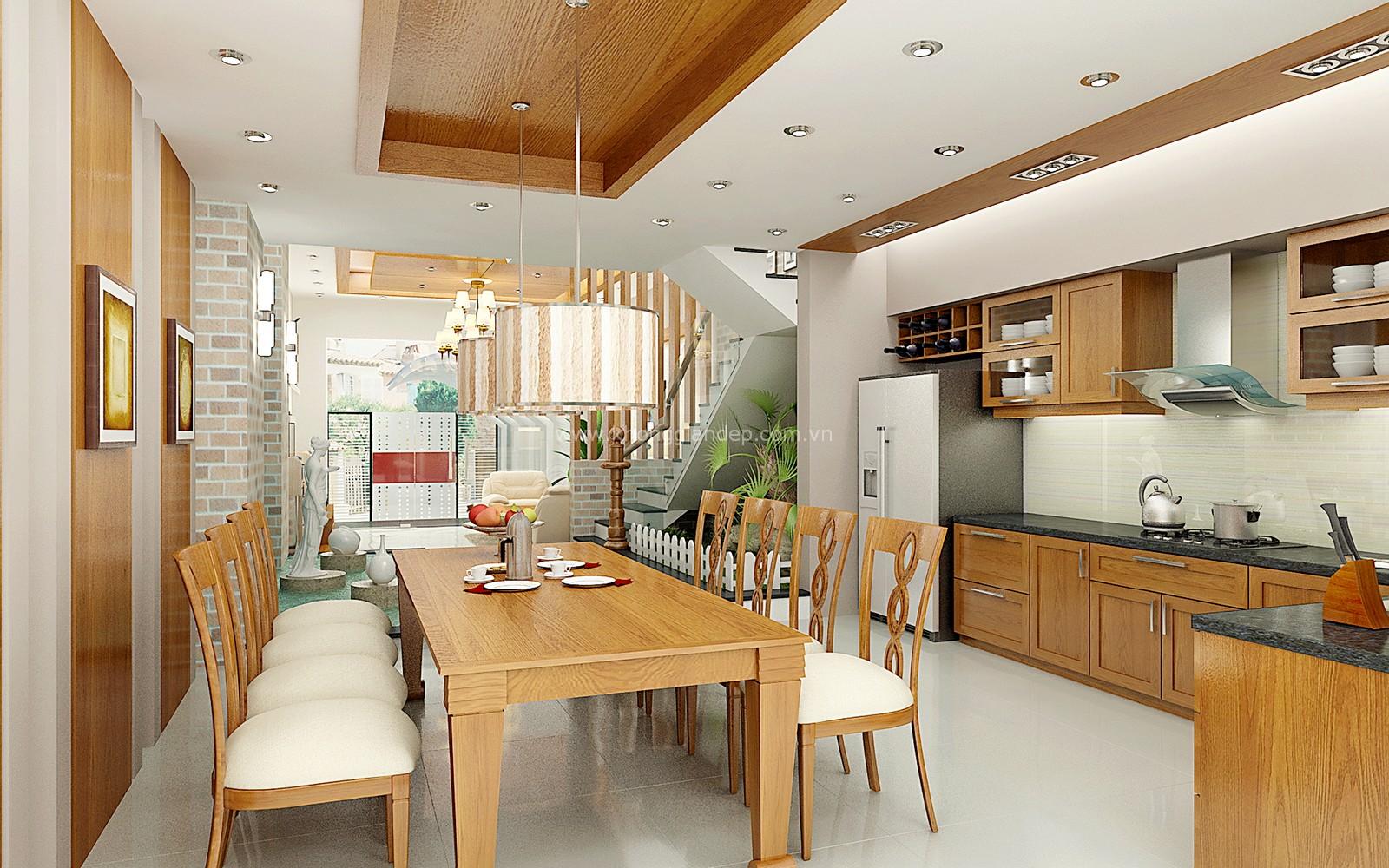 địa chỉ bán bàn ăn bằng gỗ nhỏ gọn