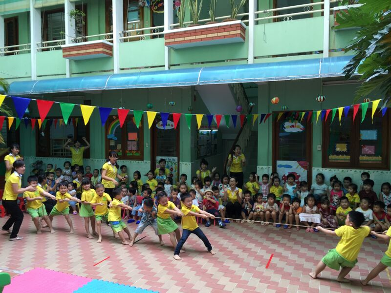 trường mẫu giáo tư thục chuẩn quốc tế
