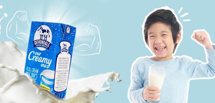 loai sữa tươi giàu canxi tốt cho sức khỏe và phát triển