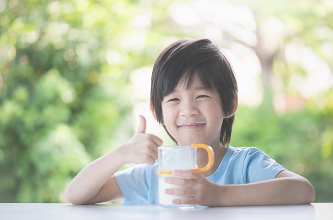 thương hiệu sữa tươi giàu canxi giúp bé cao lớn