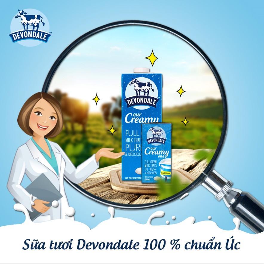 Thương hiệu sữa tươi nguyên chất tốt nhất cho bé
