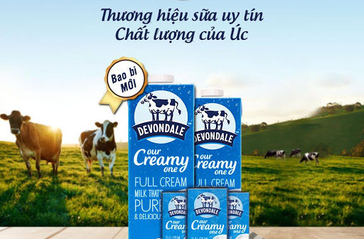 Hãng sữa tươi nguyên kem ngon nhất