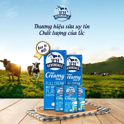 Hãng sữa tươi không đường nhập khẩu uy tín nhất