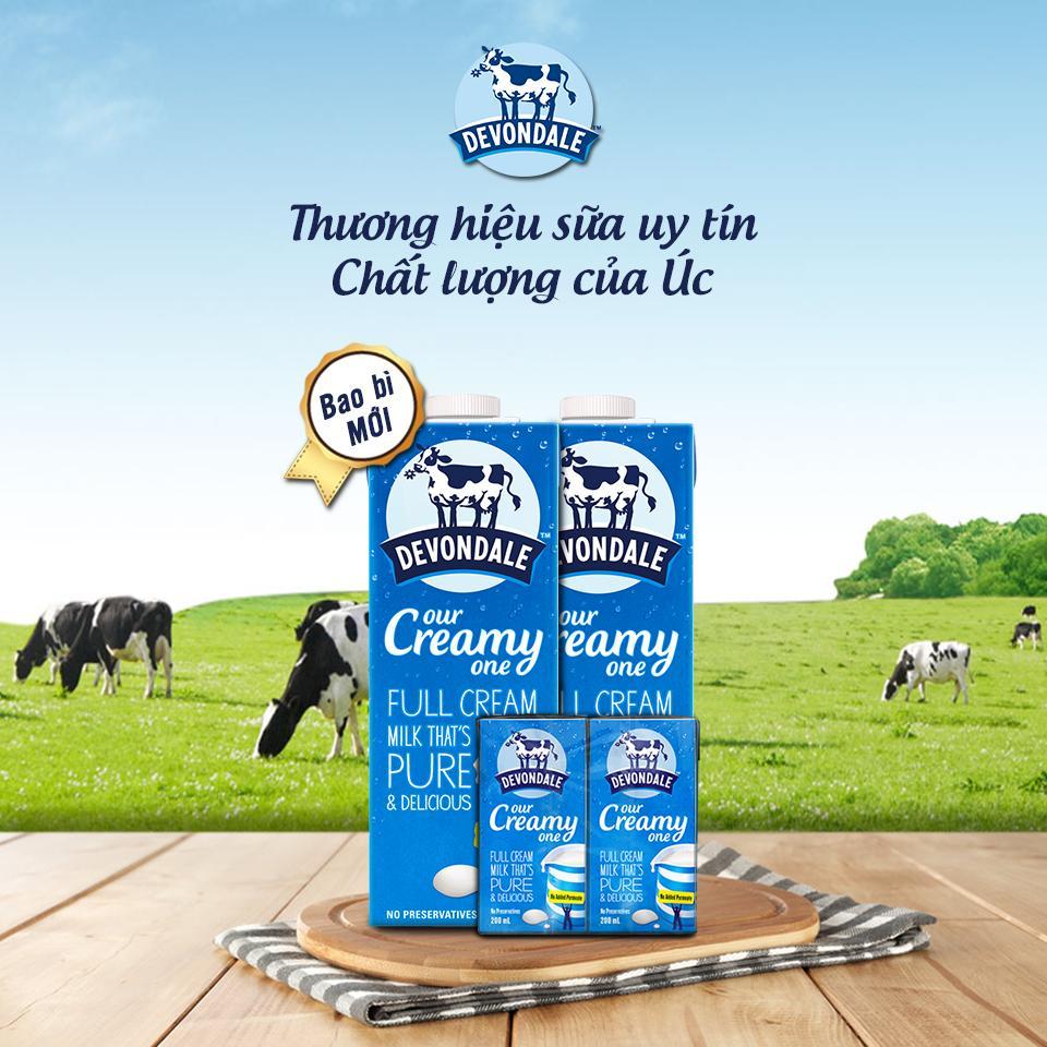 Hãng sữa tươi Úc giá rẻ tốt nhất