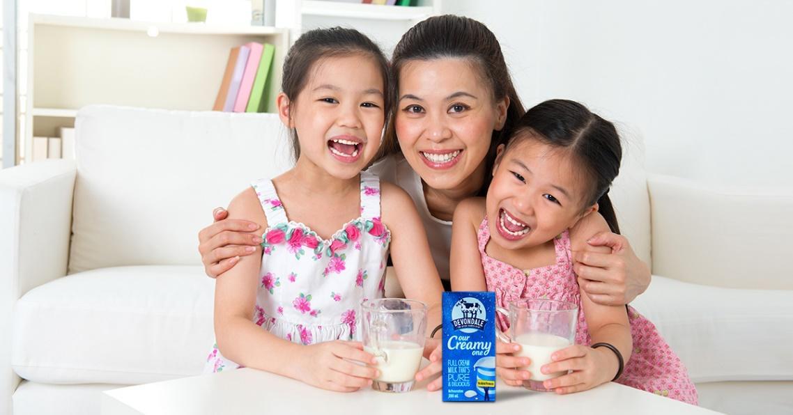 Hãng sữa tươi ngon nhất cho bé an toàn