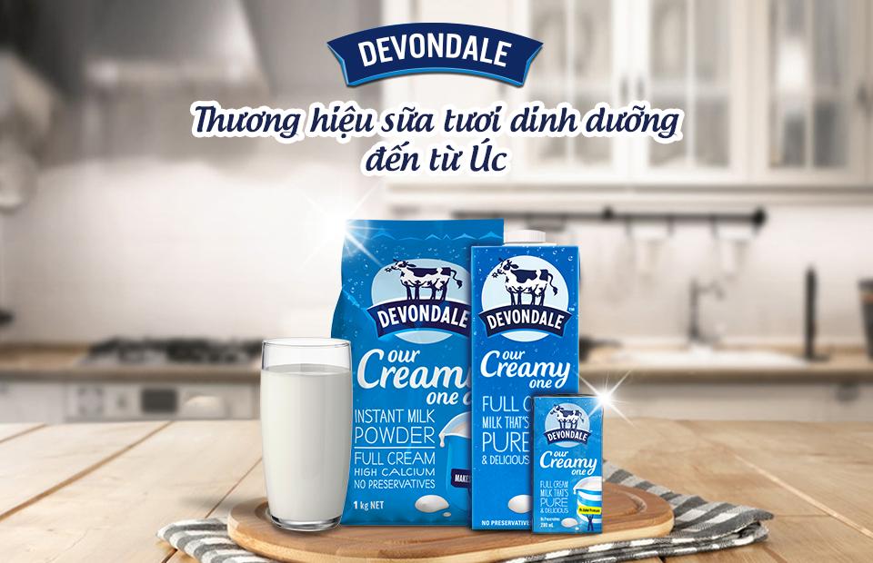 Hãng sữa tươi nguyên chất uy tín