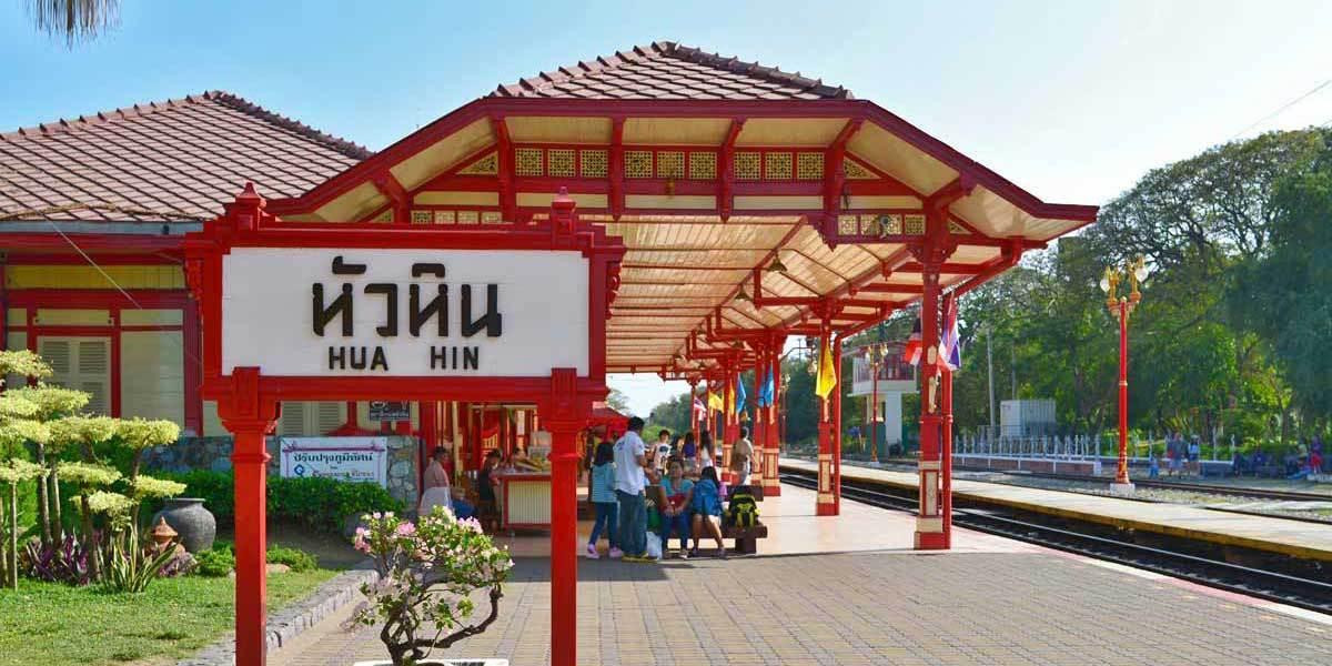 nhà ga Hua Hin Thái Lan