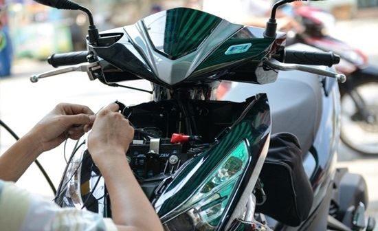 Lắp đặt Smartkey Honda cho xe Air Blade