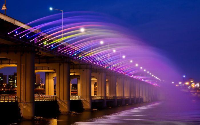 Cầu Banpo biểu tượng Hàn Quốc