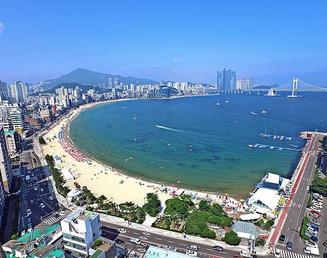 Bãi biển Gwangalli Busan Hàn Quốc