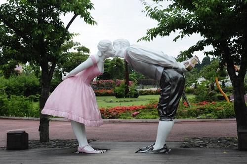 công viên tình yêu jeju