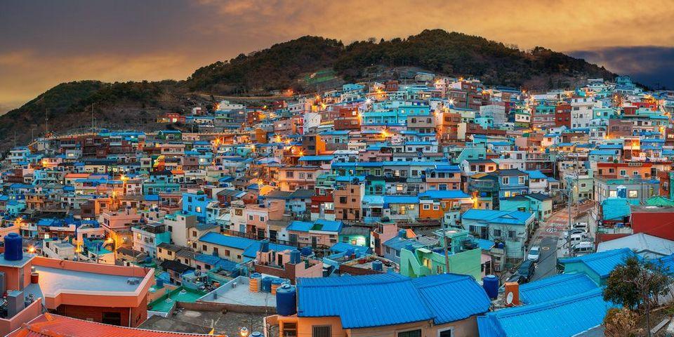 Làng văn hóa Gamcheon Busan Hàn Quốc