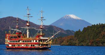 du thuyền hồ Ashi vui chơi ở Nagoya
