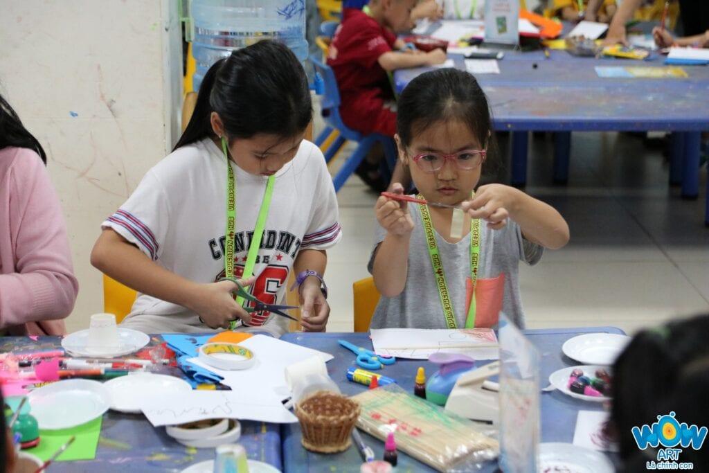 Lớp học vẽ cho bé tốt nhất ở quận 7 Tp.HCM