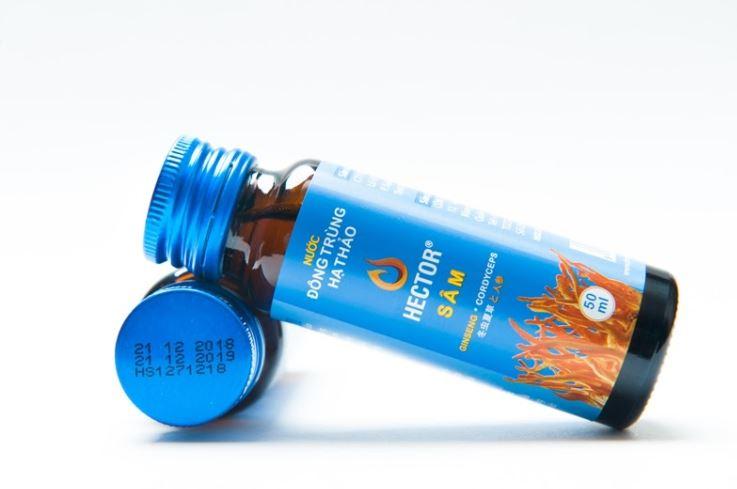 nước uống đông trùng hạ thảo
