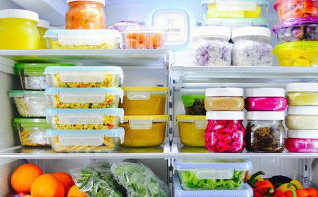 Bảo quản thực phẩm đúng cách giúp giữ lâu mùa dịch